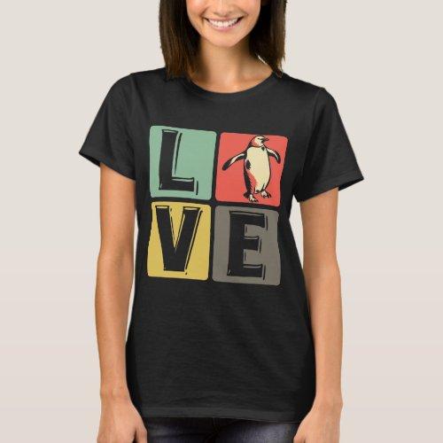 Penguin _ love T_Shirt