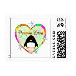 Penguin Lover Postage Stamp