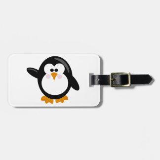 Penguin Luggage Tags