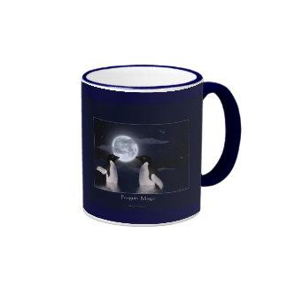 PENGUIN MAGIC Series Ringer Coffee Mug