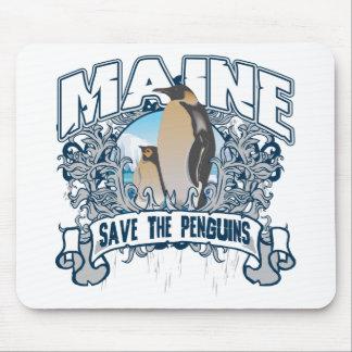 Penguin Maine Mouse Pad