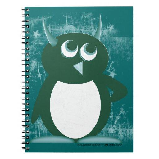 Penguin™ malvado cuadernos