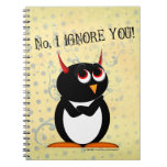 Penguin™ malvado le ignora libretas