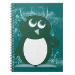 Penguin™ malvado libretas espirales