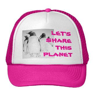 Penguin March Pink Trucker Hat