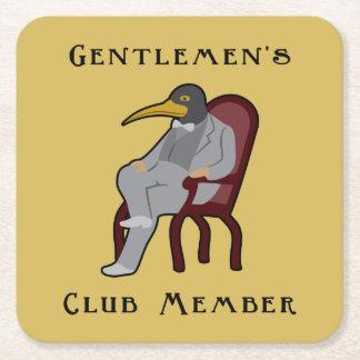 Penguin Mask Gentlemen's Club Coaster
