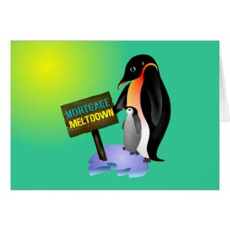 Penguin Meltdown Cards