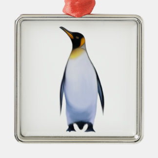 Penguin Metal Ornament