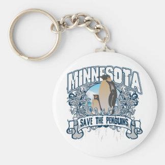 Penguin Minnesota Keychain