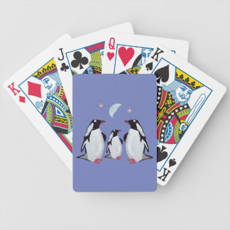Penguin Moon Playing Cards Bicycle Playing Cards