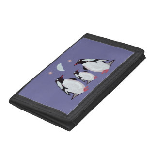 Penguin Moon Trifold Wallet