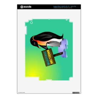 Penguin Mortgage Meltdown Decals For iPad 3