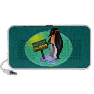 Penguin Mortgage Meltdown iPod Speaker