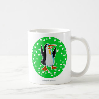 Penguin Mug Green