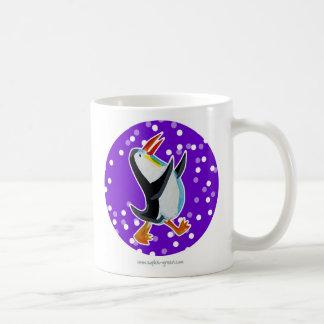 Penguin Mug Purple