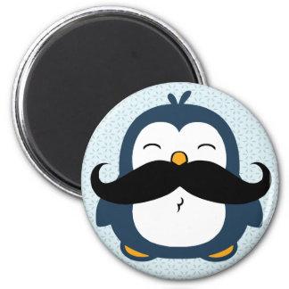 Penguin Mustache Trend Magnet