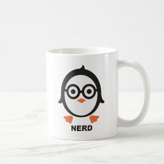 Penguin - nerd - penguin coffee mug