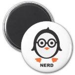 Penguin - nerd - penguin magnet