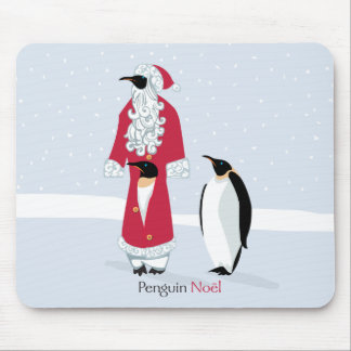 Penguin Noel Mouse Pad