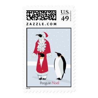 Penguin Noel Stamps