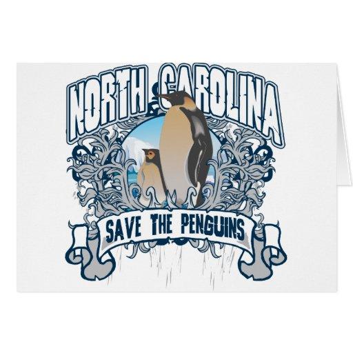Penguin North Carolina Card