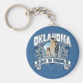 Penguin Oklahoma Keychain