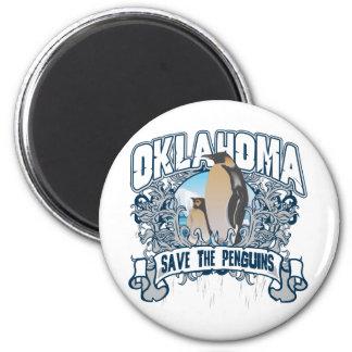 Penguin Oklahoma Magnet