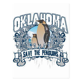 Penguin Oklahoma Postcard