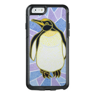 Penguin on Stained Glass OtterBox iPhone 6/6s Case