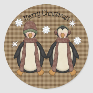 Penguin Pals Christmas Sticker