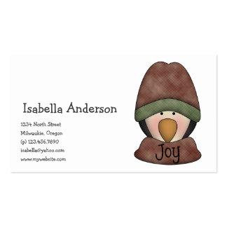 Penguin Pals · Joy Business Card