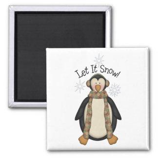 Penguin Pals · Let It Snow Magnet