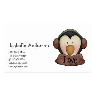 Penguin Pals · Love Business Card