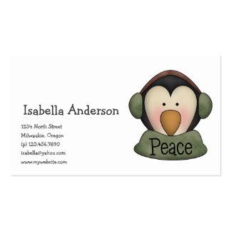 Penguin Pals · Peace Business Card