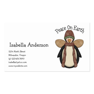 Penguin Pals · Peace on Earth Business Card