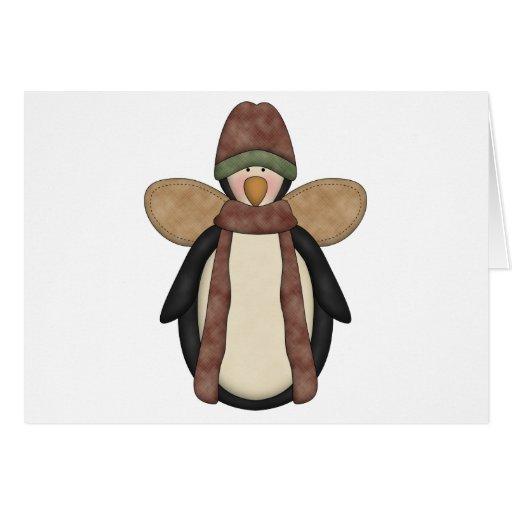 Penguin Pals · Penguin Angel Card