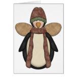 Penguin Pals · Penguin Angel Greeting Card