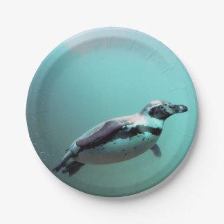 Penguin Paper Plate