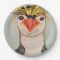 Penguin Paper Plates