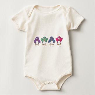 Penguin Parade Baby Bodysuit