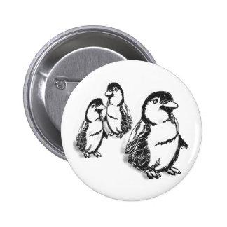 Penguin Parade Buttons