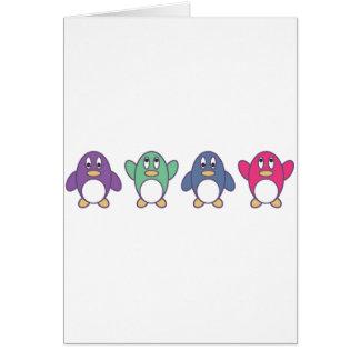 Penguin Parade Card