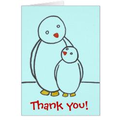 Penguin Parent Love Thank You