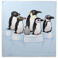Penguin Party Cloth Napkins (set of 4) dinner 20