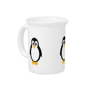 Penguin Party Jug/Pitcher Drink Pitcher