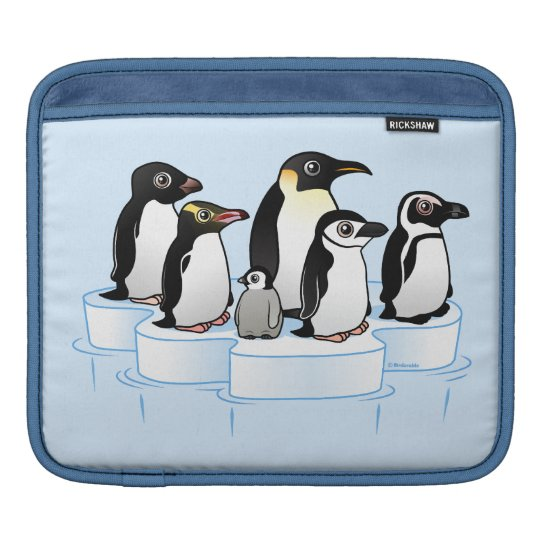 Penguin Party Sleeve For iPads
