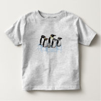 Penguin Party Toddler Fine Jersey T-Shirt