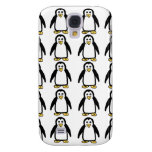 Penguin Pattern Phone Cases Samsung Galaxy S4 Cover
