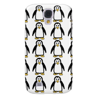 Penguin Pattern Phone Cases Galaxy S4 Case