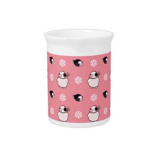 penguin pattern pitcher